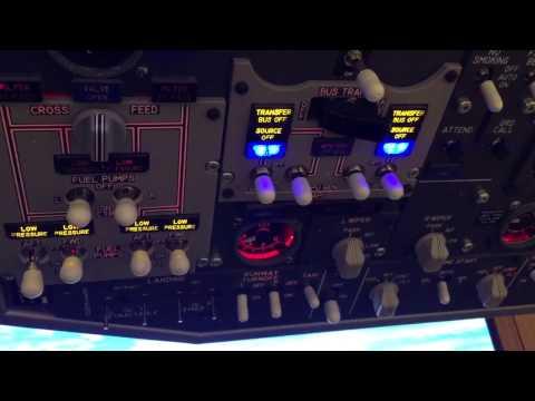Boeing 737-800 engines start up procedure