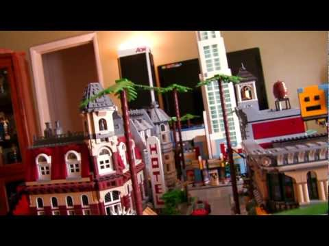 LEGO CITY | Los Angeles - Summer 2011 Layout Update