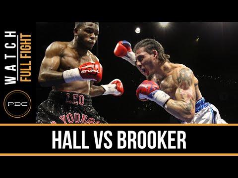 Hall vs Brooker FULL FIGHT: Dec. 29, 2015 - PBC on FS1