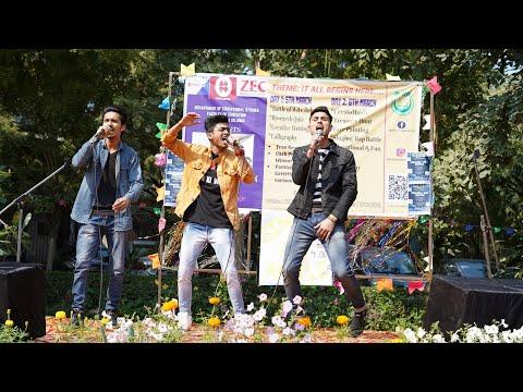 Live Performance At Jamia University   Punjabi Songs Mashups   RAP Songs   RB KI VINES