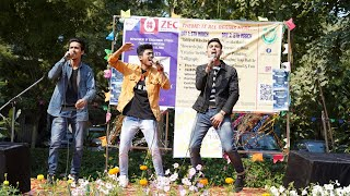 Live Performance at Jamia University | Punjabi Songs Mashups | RAP songs | RB KI VINES