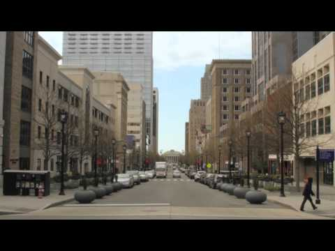 Raleigh City Map Features: Fayetteville Street Time Lapse