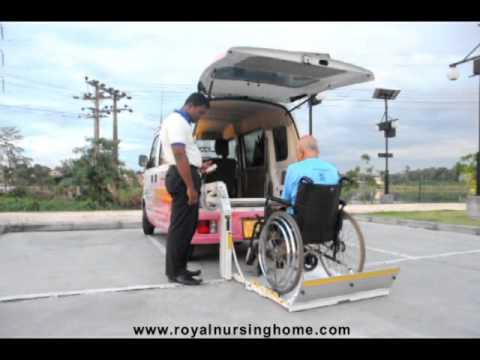 Sri Lanka First Time Senior Citizen & Disabled Transport Company