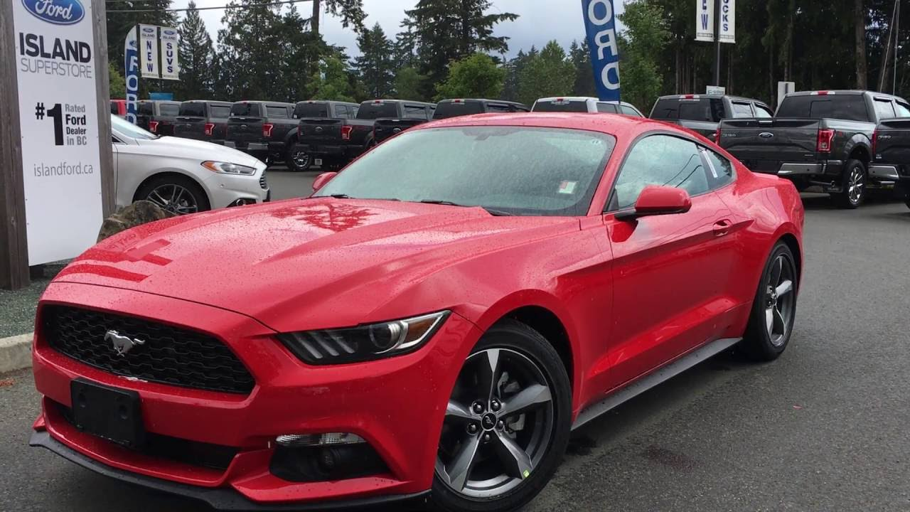 2016 Ford Mustang V6 Fastback Island Ford Youtube