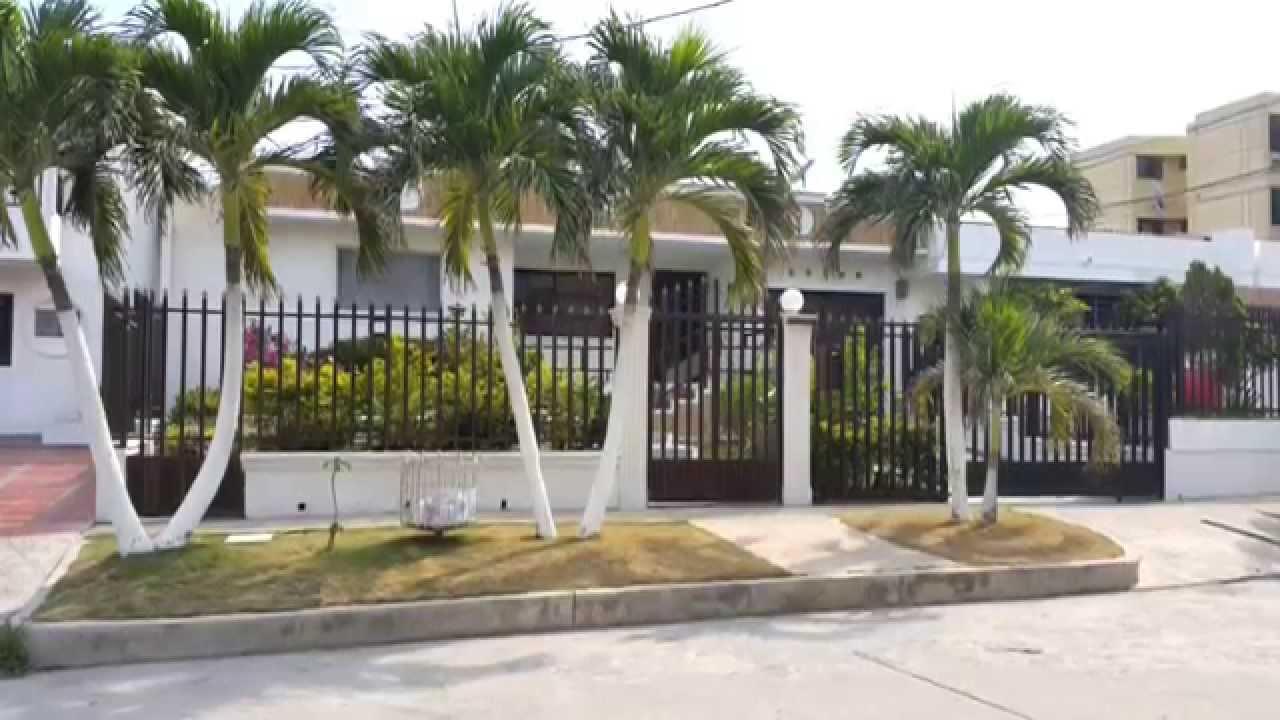 Vendo hermosa casa en barranquilla barrio ciudad jardin for Casas en ciudad jardin