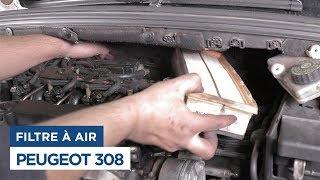 Peugeot 308 - Changer le Filtre à Air