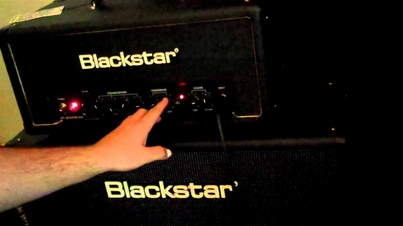 Blackstar HT-20 Studio Head with Blackstar HTV-212 cab demo/review ...