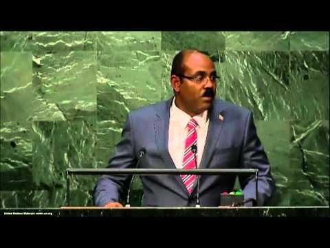 UN Speeches: President of Antigua and Barbuda John William Ashe