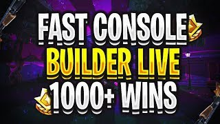 Fortnite Battle Royale Fast Console Builder 1050+ Wins (Unlocking Block Buster Live)