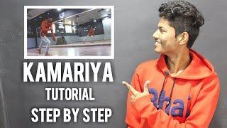 KAMARIYA - MITRON | Darshan Raval | Dance Choreography | Tutorial | Step By Step | Dipen Sanjot |