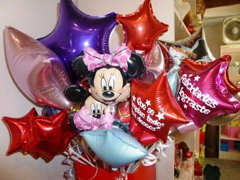 Como sellar un globo metalizado Curso de decoracion