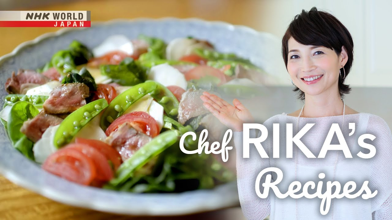 Photo of Chef Rika's Power Salads [Japanese Cooking] – Dining with the Chef – video