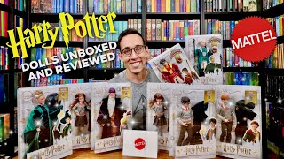 HARRY POTTER MATTEL DOLLS UNBOXING AND REVIEW