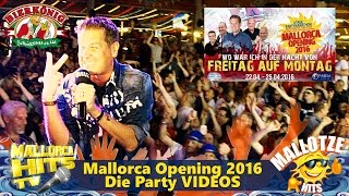 Mallorca Opening 2016 - Die Party Musik Videos - Bierkönig - Mallorca Hits TV