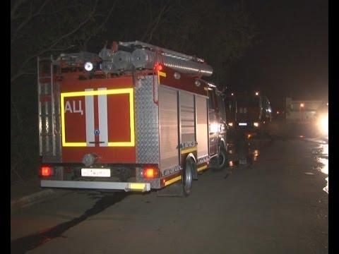 Пожар в автомастерской.MestoproTV
