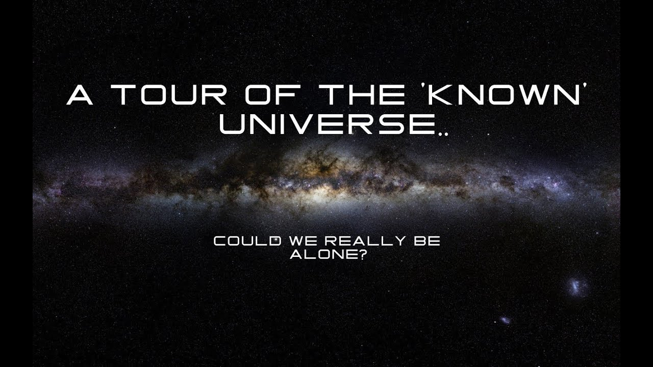 A tour of the known universe