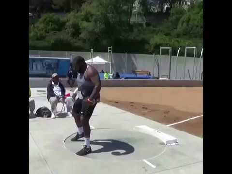 Darrell Hill -Rafer Johnson Invite 21.91m