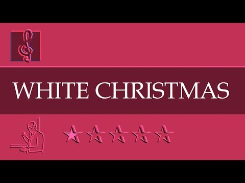 Chromatic Harmonica and Tremolo  Notes Tutorial - White Christmas - Christmas song (Sheet Music)