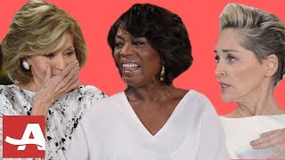 Download Video Sharon Stone, Alfre Woodard & Jane Fonda Talk Fears, Sex & Careers | AARP MP3 3GP MP4