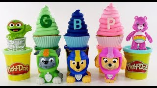 Paw Patrol Learning with Play Doh and Surprise Toys | Play Doh Kids | DCTC videos