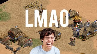 AoE2 - Funniest Tower Rush Game