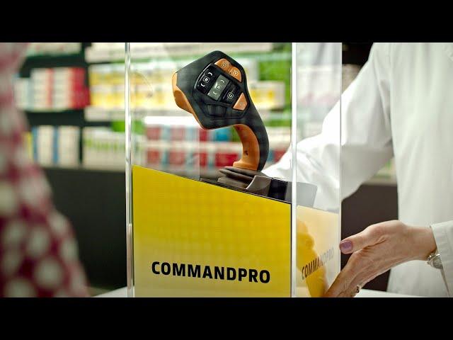 More ergonomics. More comfort. CommandPRO | John Deere