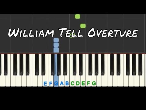 William Tell Overture: Easy Piano Tutorial With Free Sheet Music