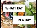 What I Eat In a Day/Balanced And Healthy