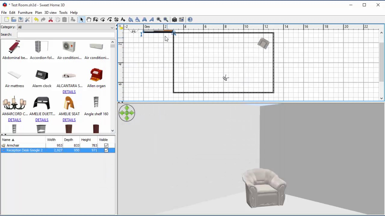 Sketchup import into sweethome3d youtube for Sketchup import