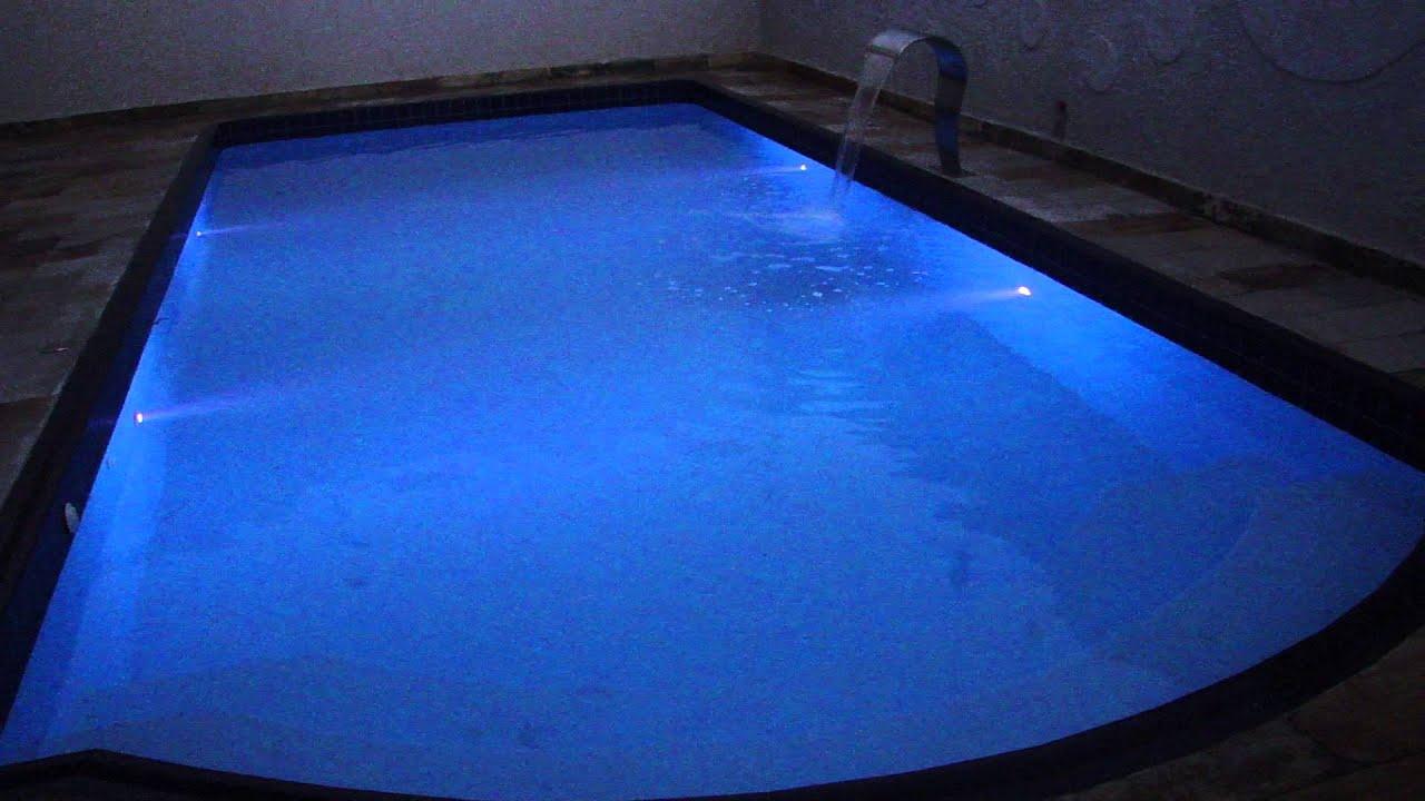 Ilumina o para piscina super led youtube for Piscinas de plastico para ninos