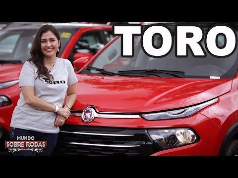 Nova Fiat Toro em Detalhes
