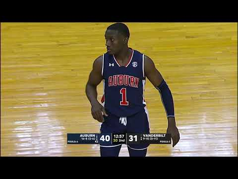 Auburn University Sports - Auburn Men's Basketball vs Vanderbilt Highlights