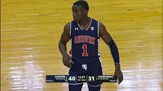 Auburn Men's Basketball Highlights vs Vanderbilt