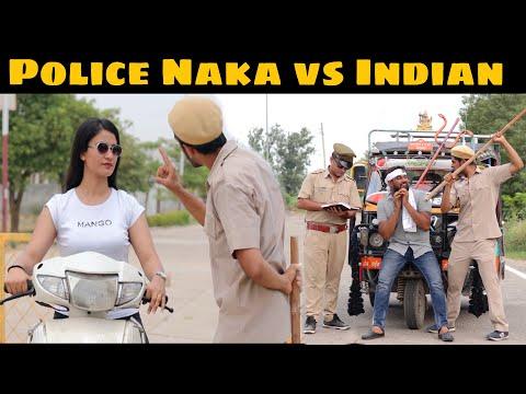 Police Naka vs Indian | Indian Police | Pardeep Khera