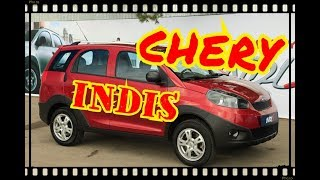Chery indiS.  В центре продаж авто АВТОБАН (ОМСК)