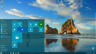 обзор Windows 10 RTM (Полная версия, НЕ Insider Preview) 10240