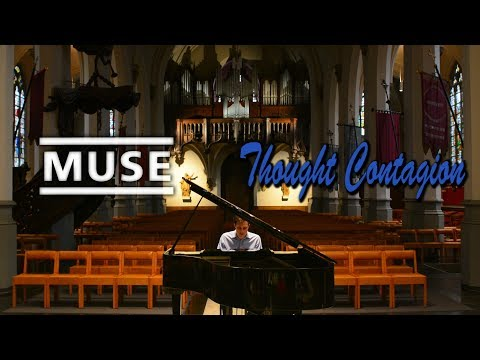 MUSE - #Thoughtcontagion on a piano in a church