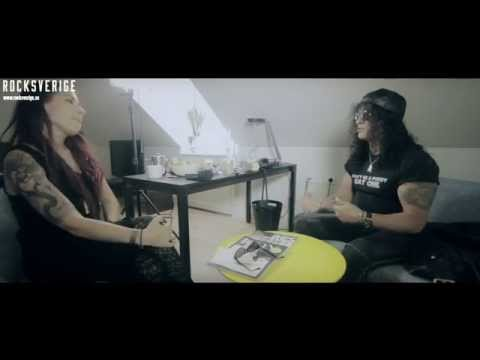 SLASH - Rocksverige Meets The Legend In A Relaxed Interview (2014)
