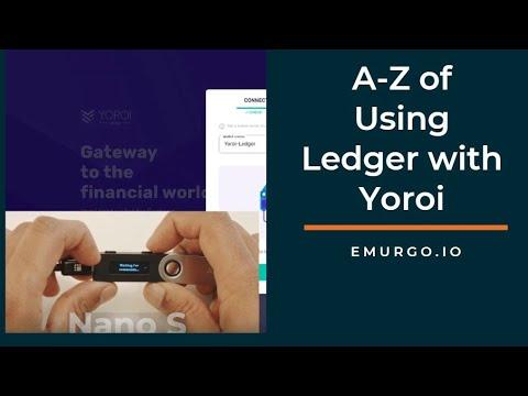 Ledger Nano Usage With Yoroi Wallet - Full Tutorial