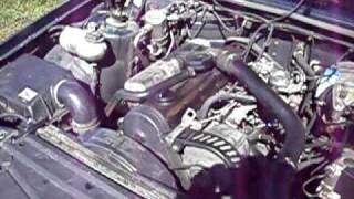 Volvo 940 GL  D6 idling sound 2.4 D24TIC DTIC D24 LT Diesel  TD Turbodiesel