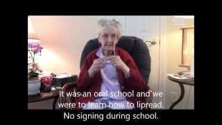 Meet Agatha Chizek, Oldest Deaf Woman in the U.S. or World?!