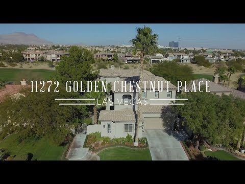 11272 Golden Chestnut Place   Red Rock Country Club - Las Vegas Guard Gated Real Estate 4K HD