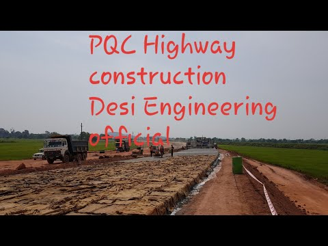 Rigid Pavement/ PQC National Highways construction