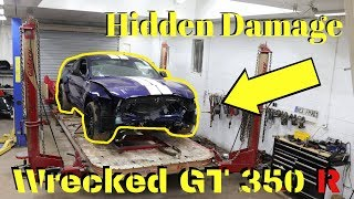 Rebuilding a Wrecked Ford Mustang Gt350r bought from Copart Part 2     Inspired by Goonzquad