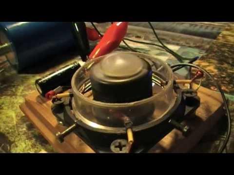 Elektromotor läuft von Kondensator (inkl. Schaltplan)