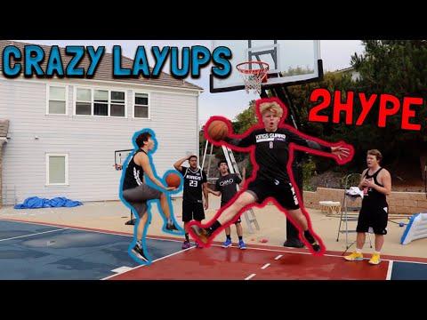 2HYPE *TRIES* CRAZY Layups!