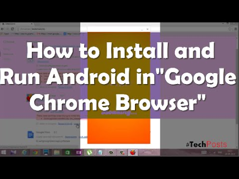 How To Install Android Apps And Games On Google Chrome Browser Youtube