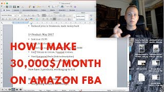 EXACTLY HOW I Turned 1,000$ Into 30,000$/Month On Amazon FBA