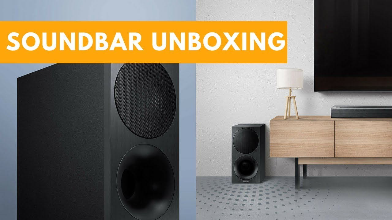 Samsung Soundbar Unboxing And Review Hw M450 Swa 8500s Youtube