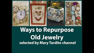 Ways to Repurpose Old Jewelry – Repurposed Jewelry Crafts Ideas – Crafts to Make and Sell